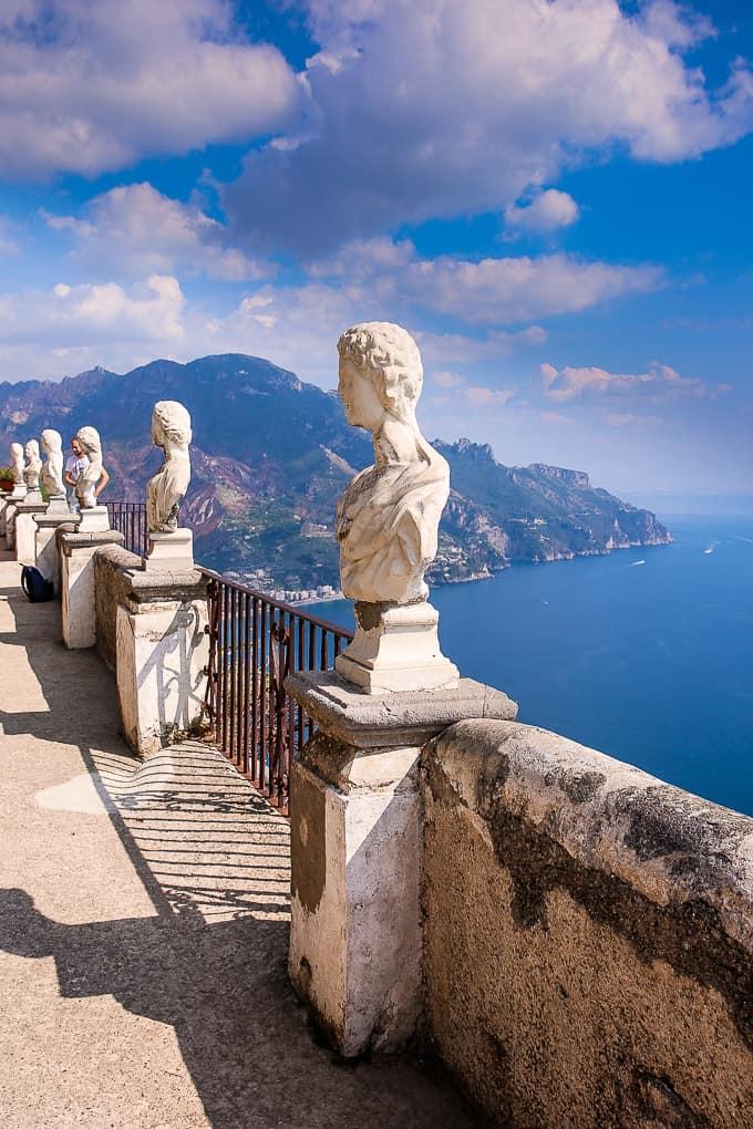 Terrazza dell'Infinito Ravello, Amalfi Coast