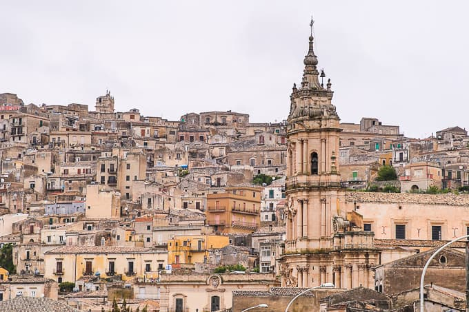 The Cathedral of San Giorgio in Modica, Sicily, Italy
