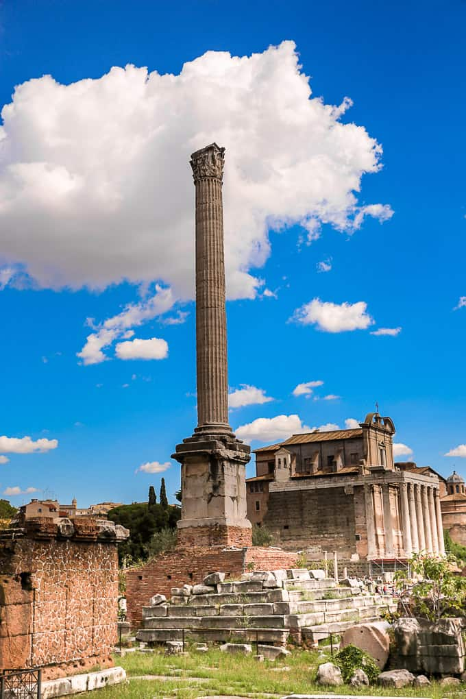 The Column of Phocas, Rome