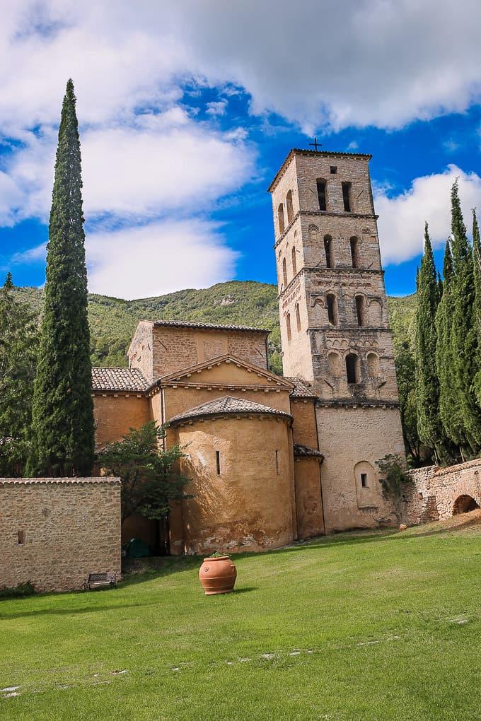 The Hotel Abbazia San Pietro in Valle