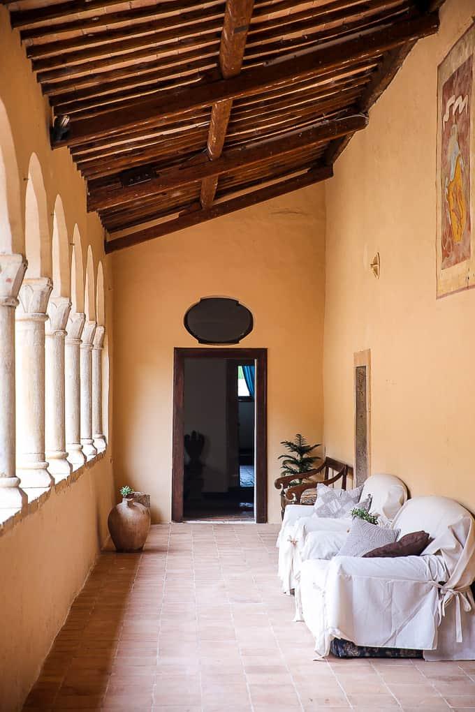 The Hotel Abbazia San Pietro in Valle, Italy