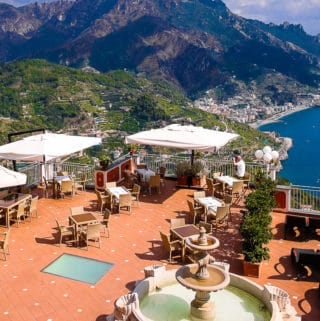 View from Hotel Villa Fraulo, Ravello, Italy