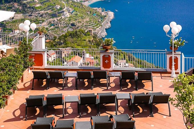 View from Hotel Villa Fraulo, Ravello, Italy