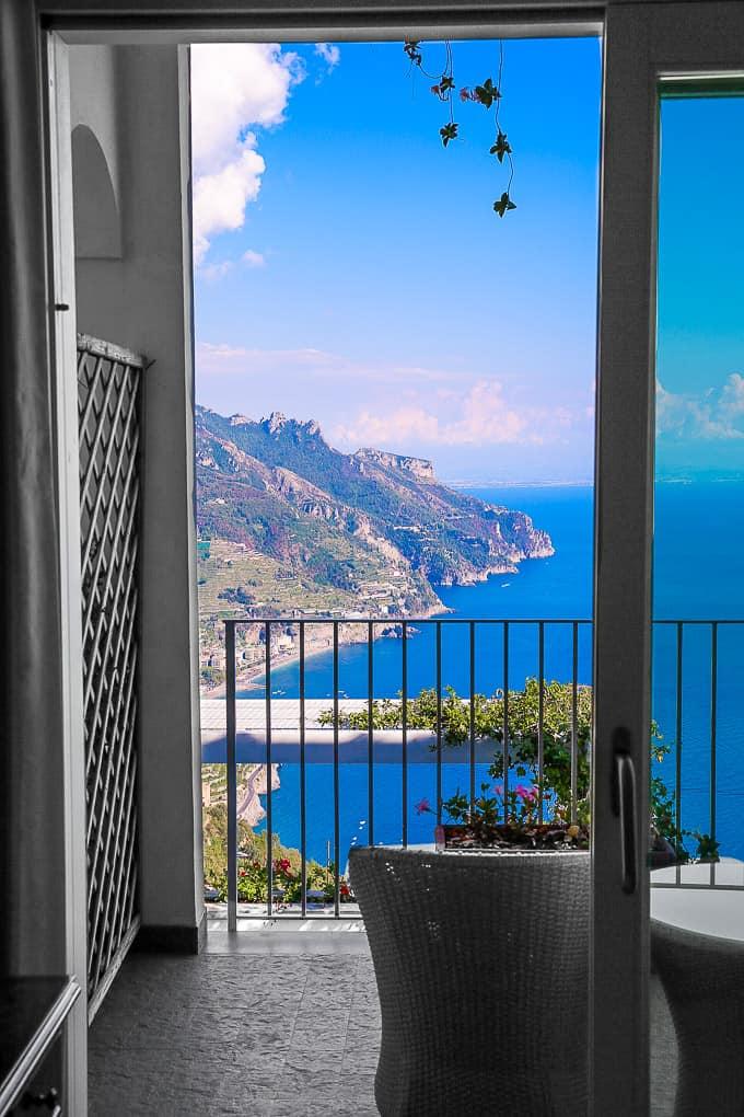 bedroom Hotel Villa Fraulo, Ravello, Italy