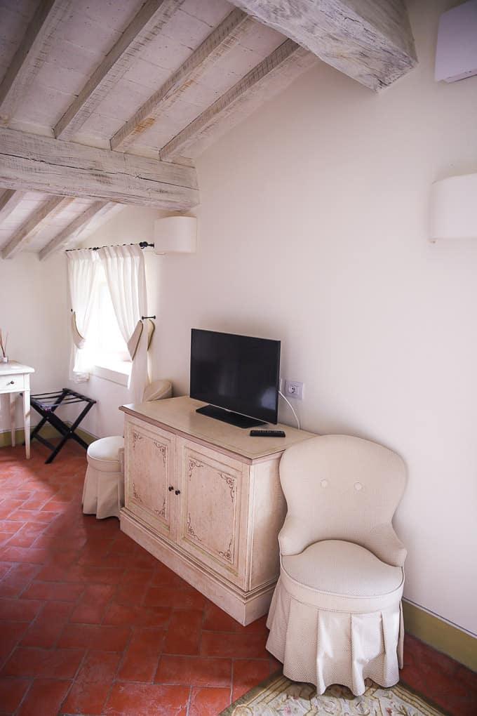 bedroom Podere Brizio, Tuscany, Italy