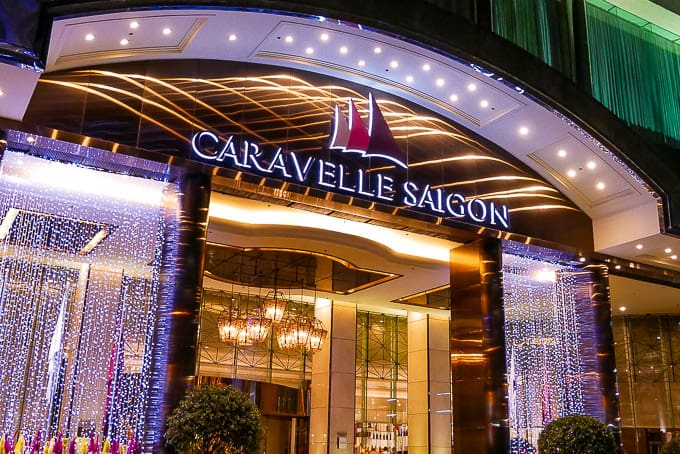 Caravelle Hotel in Ho Chi Minh City, Vietnam
