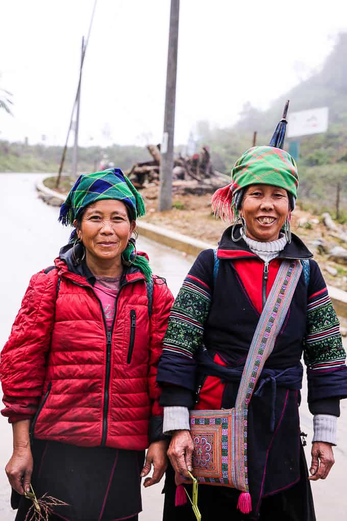 Hmong ladies in Sapa, Vietnam