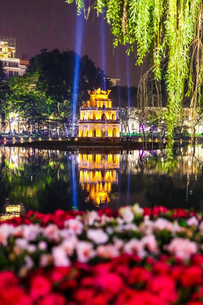 Hoan Kiem Lake - Sword Lake, Hanoi, Vietnam