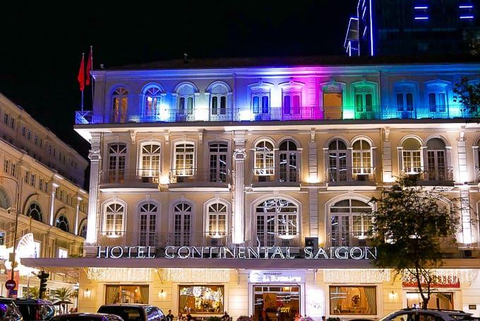 Hotel Continental Saigon, Ho Chi Minh City, Vietnam