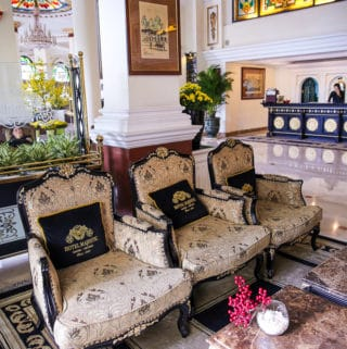 Lobby at Hotel Majestic, Ho Chi Minh City, Vietnam