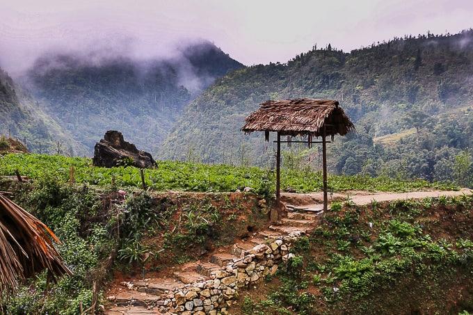 Rural area Cat Cat village, Vietnam