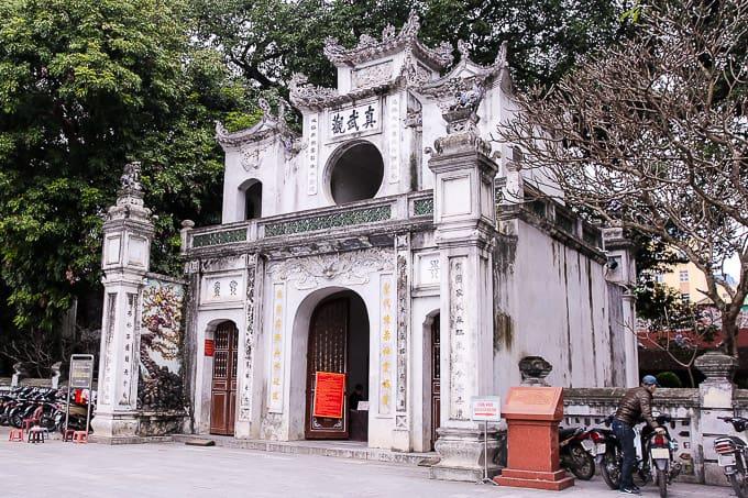 Quan Thanh Temple in Hanoi, Vietnam