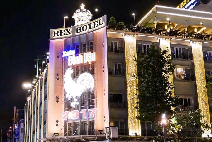 Rex Hotel in Ho Chi Minh City, Vietnam