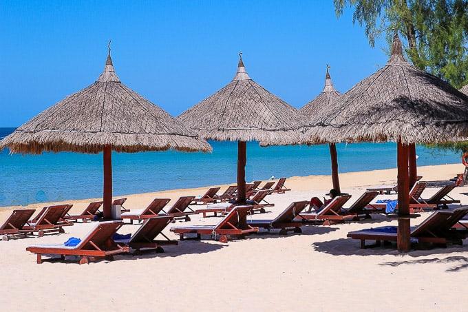 Beach at Vinpearl Resort, Phu Quoc, Vietnam