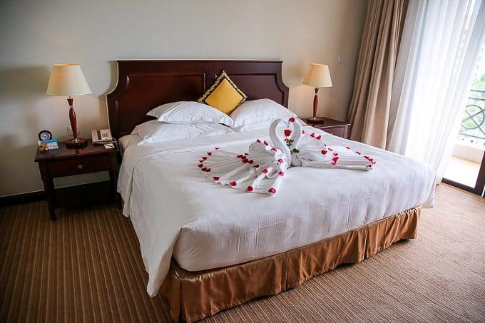 Bedroom at Vinpearl Resort, Phu Quoc, Vietnam