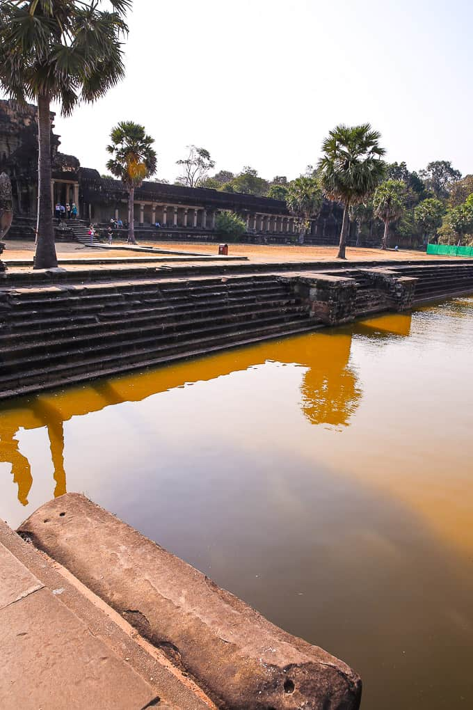 The Moat around Angkor Wat