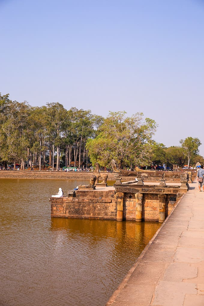 Moat around Angkor Wat