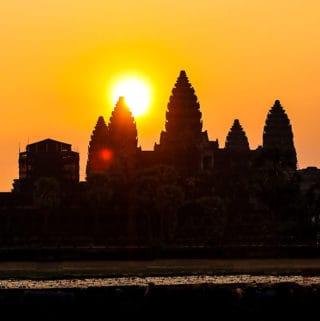 Angkor Wat, sunrise