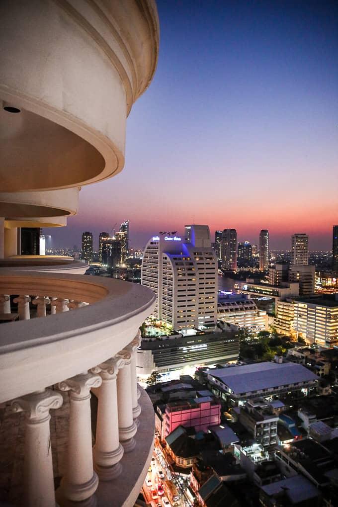 Bangkok skyline from Lebua at State Tower Hotel