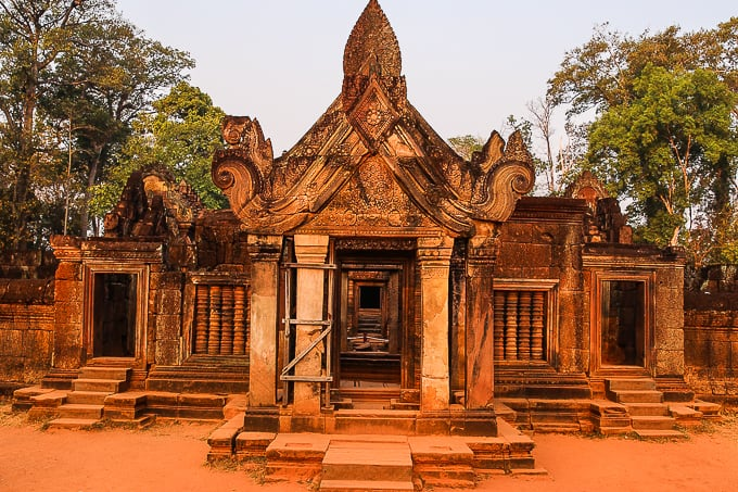 Banteay Srei - Citadel of the Women, The Lady Temple, Cambodia