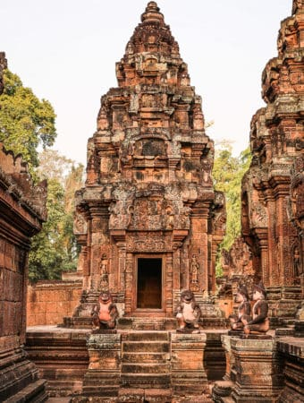 Banteay Srei - Citadel of the Women - The Lady Temple, Cambodia