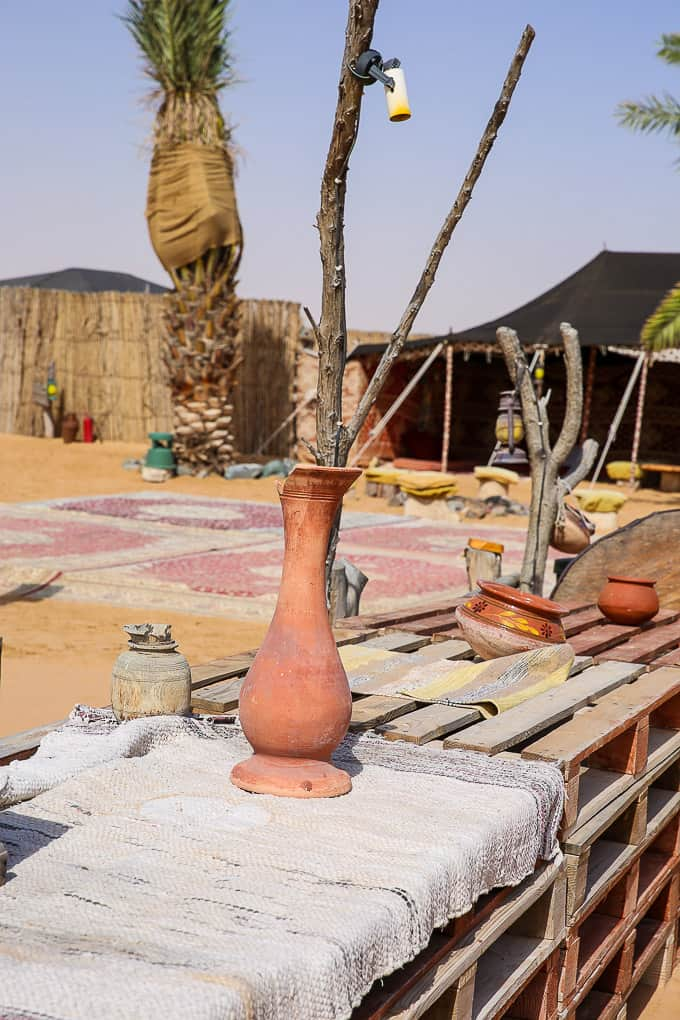 Bedouin Camp at the Dubai Desert Conservation Reserve