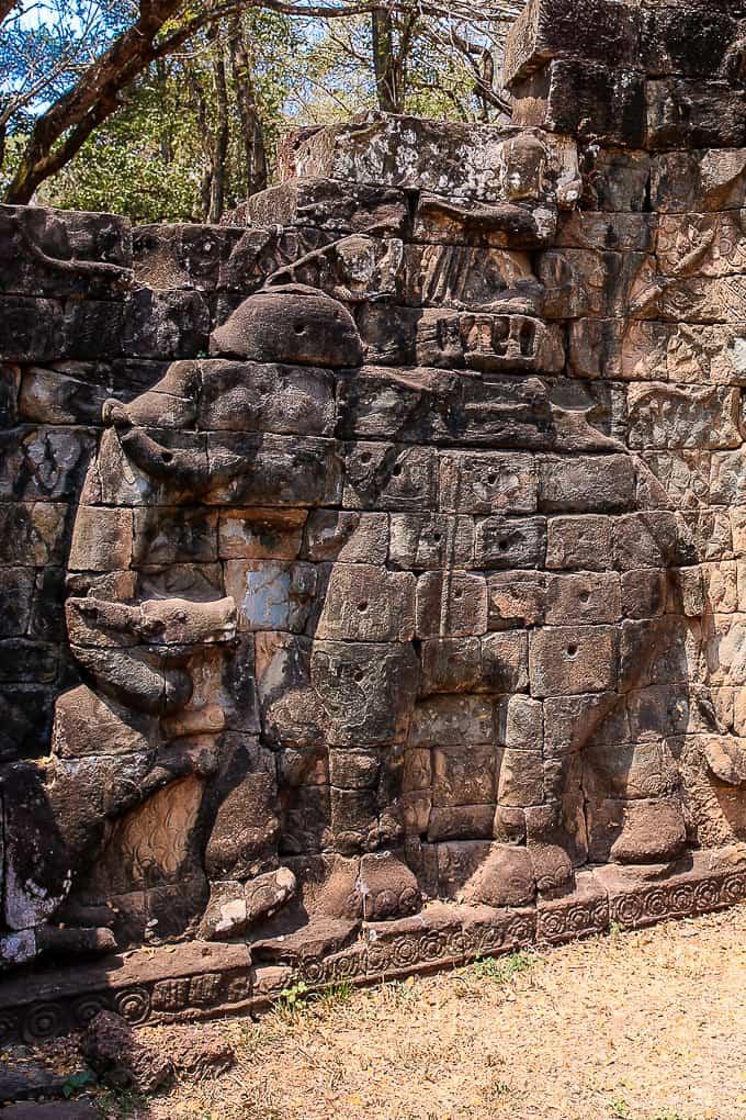 Elephant Terrace, Angkor Thom, Cambodia