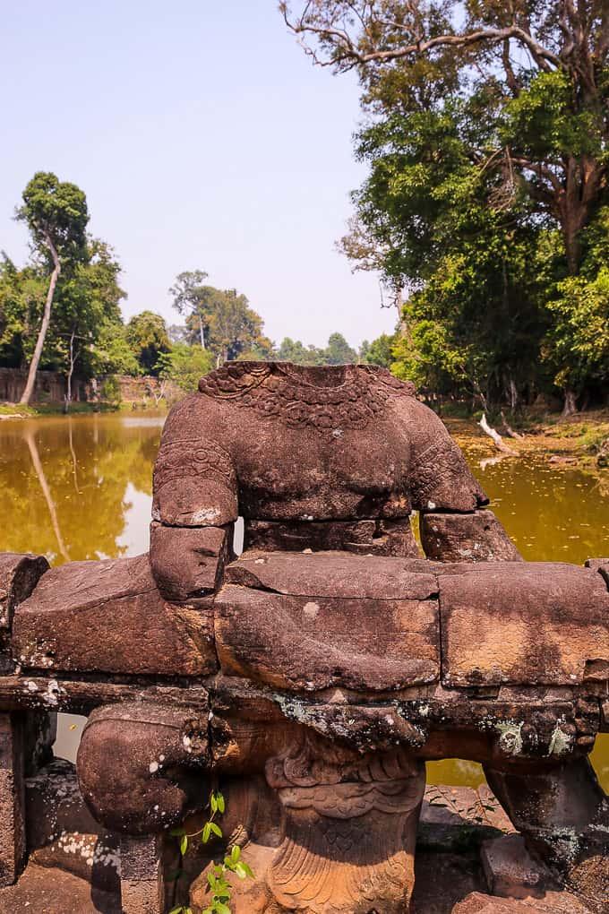 Entrance to Preah Khan, Cambodia