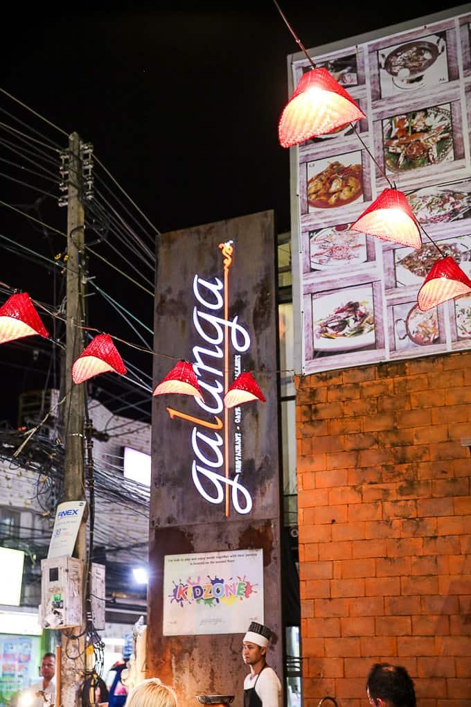 Galanga Restaurant, Koh Samui, Thailand