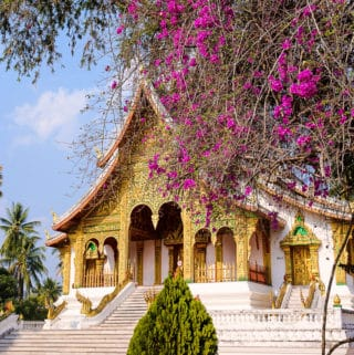 Haw Pha Bang, Royal temple, in Luang Prabang, Laos