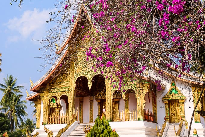 Haw Pha Bang, Royal temple, in Luang Prabang, Laos