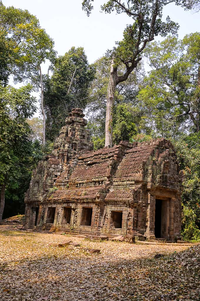 House of Fire near Preah Khan, Cambodia