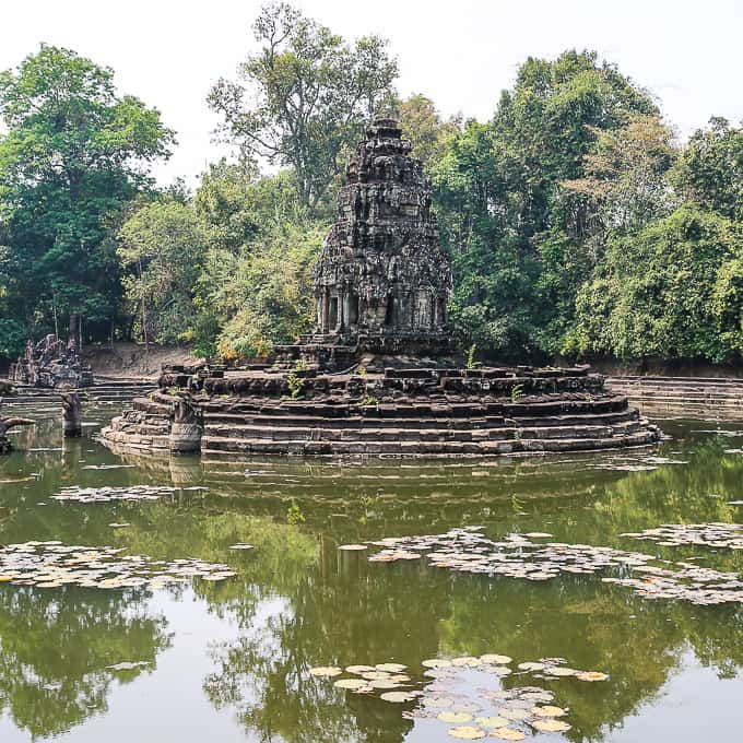 Jayatataka Baray Surrounding Neak Pean Temple