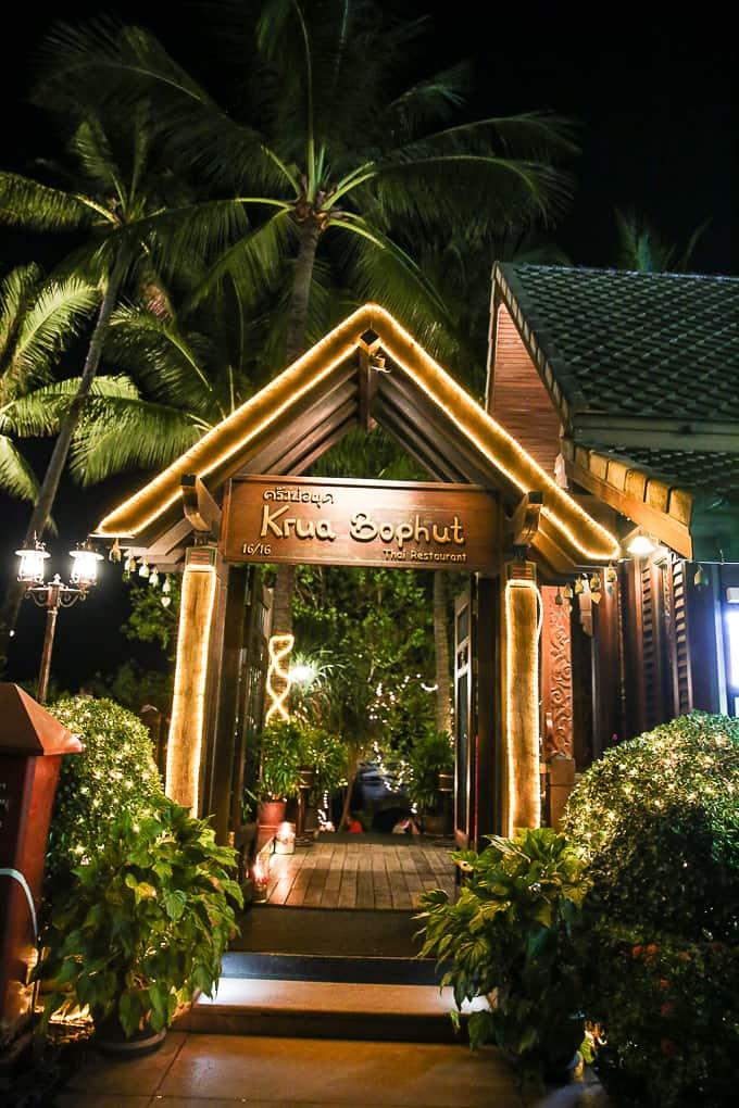 Krua Bophut Restaurant, Koh Samui, Thailand