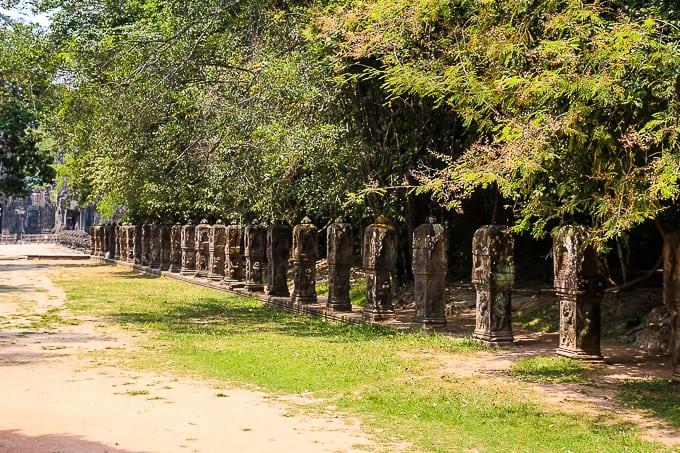 Road to Preah Khan, Cambodia