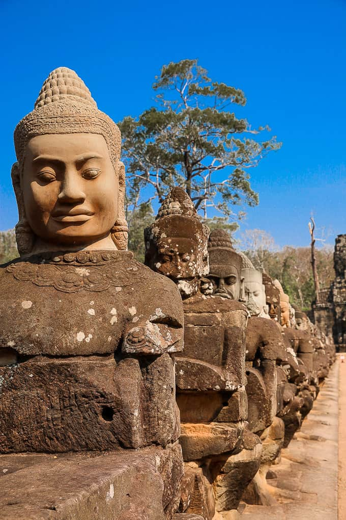 South gate of Angkor Thom, Cambodia