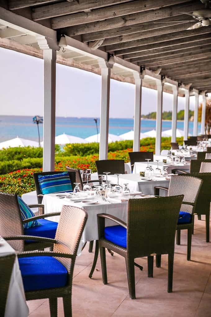 Taboras Restaurant, Fairmont Royal Pavilion, Barbados