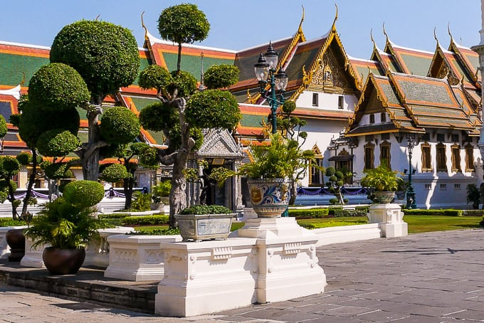 The Phra Maha Montein Group at the Grand Palace, Bangkok