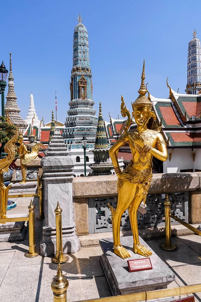 Thepnorasingha at Wat Phra Kaew, Bangkok