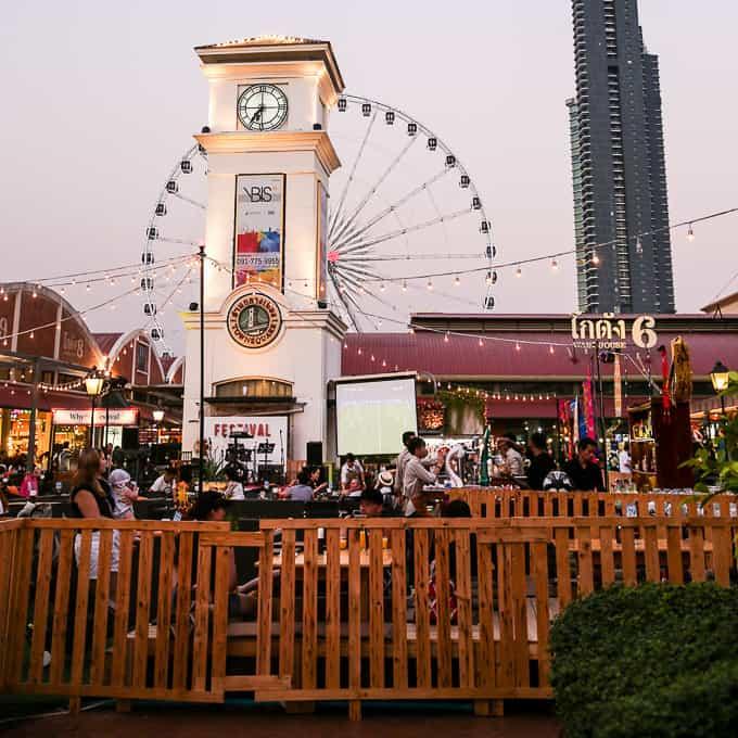 Town Square in Bangkok