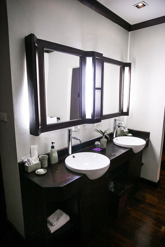 Bathroom at Kiridara Luang Prabang, Laos