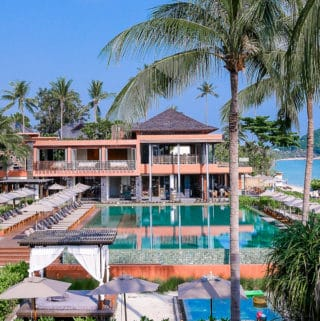 Swimming Pool at Hansar Samui Resort, in Koh Samui, Thailand