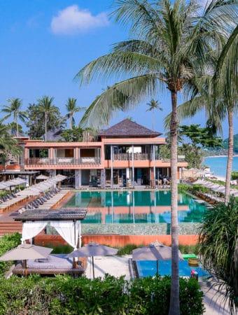 Swimming Pool at Hansar Samui Resort, in Koh Samui, Thailand