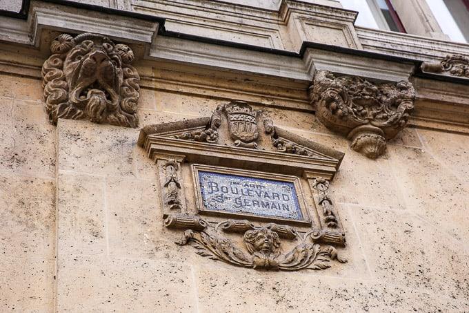 Boulevard Saint Germain, Paris