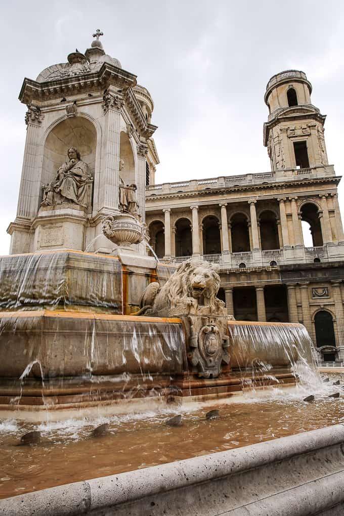 Fontaine Saint-Sulpice, Paris
