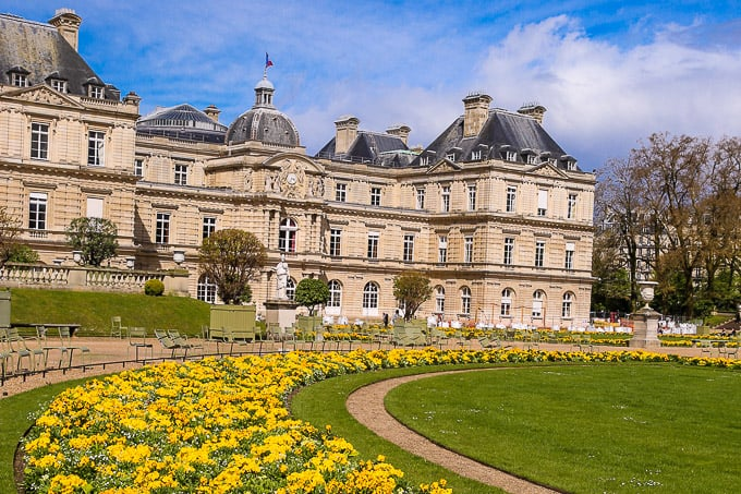 Luxembourg Gardens and Luxembourg Palace, Paris