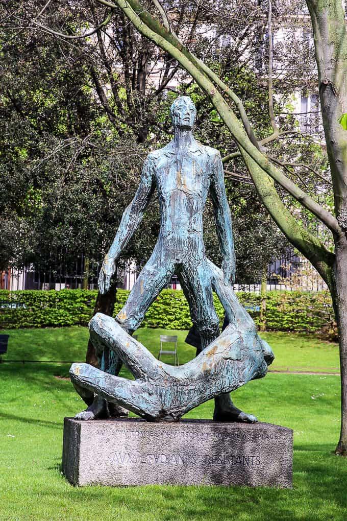 Monument Aux Étudiants Résistants, Jardin du Luxembourg, Paris