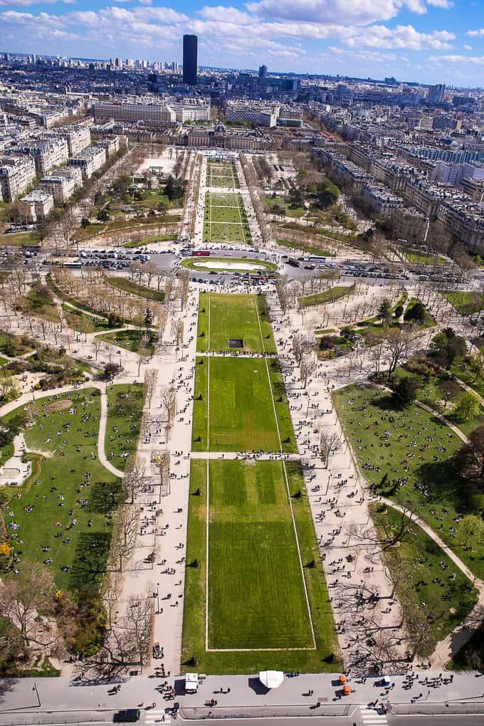 Champ de Mars, Paris.