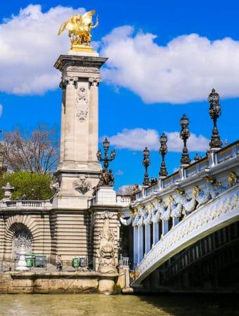 Pont Alexandre III - Bridge over the Seine, France