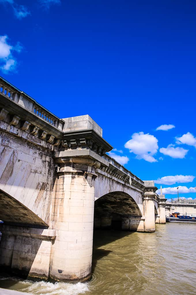 Pont de la Concorde - Bridge over the Seine, France